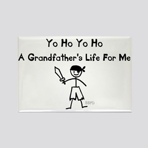 A Grandfather's Life For Me Rectangle Magnet