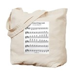B Major Scale Tote Bag