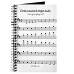 B Major Scale Journal
