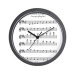 B Major Scale Wall Clock