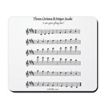 B Major Scale Mousepad