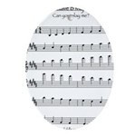 B Major Scale Ornament (Oval)