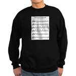 B Major Scale Sweatshirt (dark)