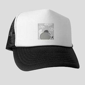 Peace Talks (no text) Trucker Hat
