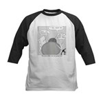 Peace Talks Kids Baseball Jersey
