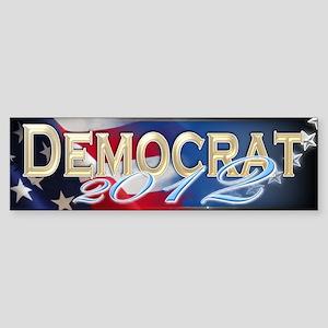 Vote Dem - Sticker (Bumper)