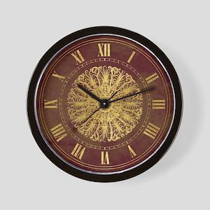 Victorian medallion Wall Clock