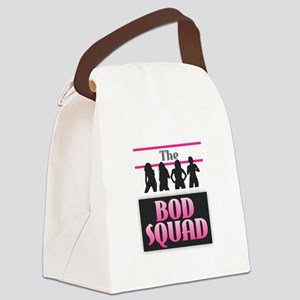 The Bod Squad - Pink Canvas Lunch Bag