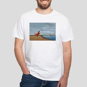 Toller White T-Shirt