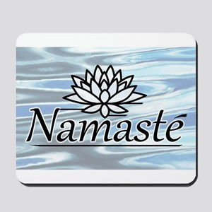 Namaste Lotus Ripple Mousepad
