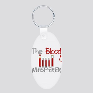 The Whisperer Occupations Aluminum Oval Keychain