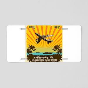 351st EARS Aluminum License Plate