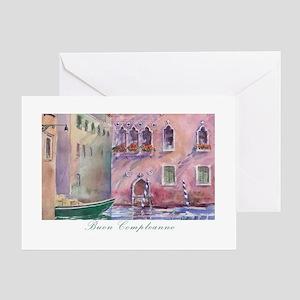 Watercolor painting greeting cards cafepress venice italian birthday card m4hsunfo