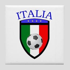 Italian Soccer Tile Coaster