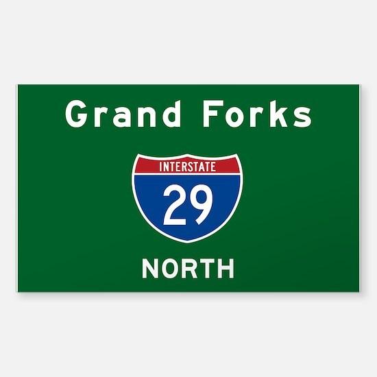 Grand Forks 29 Sticker (Rectangle)