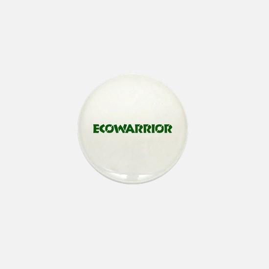 """""""Ecowarrior"""" Mini Button"""