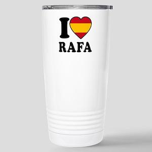 I Love Rafa Nadal Stainless Steel Travel Mug