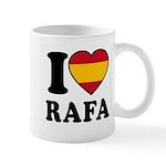 I Love Rafa Nadal Mug