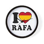 I Love Rafa Nadal Wall Clock