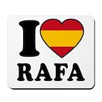I Love Rafa Nadal Mousepad