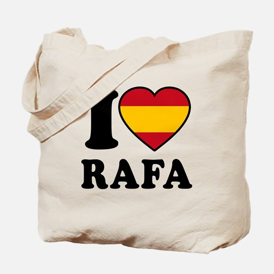 I Love Rafa Nadal Tote Bag