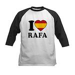 I Love Rafa Nadal Kids Baseball Jersey