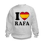 I Love Rafa Nadal Kids Sweatshirt