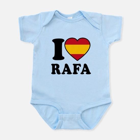 I Love Rafa Nadal Infant Bodysuit
