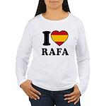 I Love Rafa Nadal Women's Long Sleeve T-Shirt