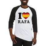 I Love Rafa Nadal Baseball Jersey