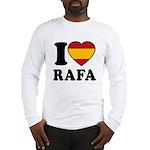 I Love Rafa Nadal Long Sleeve T-Shirt