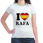 I Love Rafa Nadal Jr. Ringer T-Shirt
