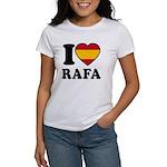 I Love Rafa Nadal Women's T-Shirt