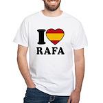 I Love Rafa Nadal White T-Shirt