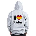 I Love Rafa Nadal Zip Hoodie