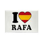 I Love Rafa Nadal Rectangle Magnet (100 pack)