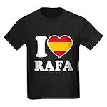 I Love Rafa Nadal Kids Dark T-Shirt
