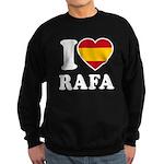 I Love Rafa Nadal Sweatshirt (dark)