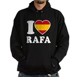 I Love Rafa Nadal Hoodie (dark)