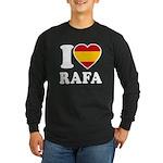 I Love Rafa Nadal Long Sleeve Dark T-Shirt