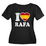 I Love Rafa Nadal Women's Plus Size Scoop Neck Dar