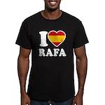 I Love Rafa Nadal Men's Fitted T-Shirt (dark)