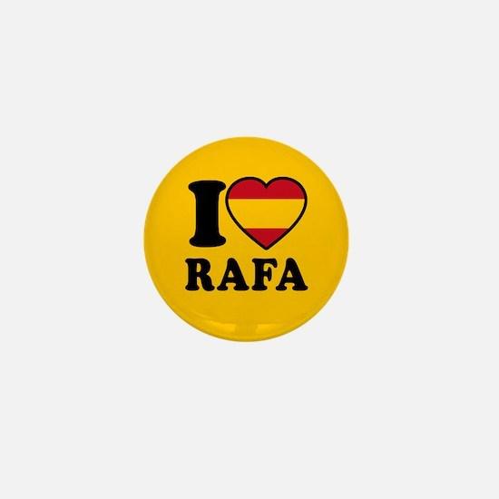 I Love Rafa Nadal Mini Button