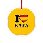 I Love Rafa Nadal Ornament (Round)