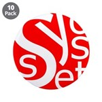 "Syosset 3.5"" Button (10 pack)"