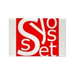 Syosset Rectangle Magnet (100 pack)