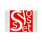 Syosset Rectangle Magnet