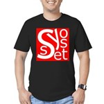 Syosset Men's Fitted T-Shirt (dark)