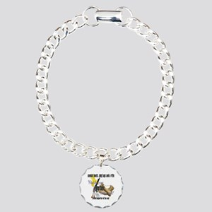 AF What Does Your Mother Wear Charm Bracelet, One