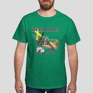 AF What Does Your Grandson Wear Dark T-Shirt